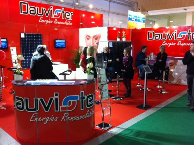 Dauvister au Salon Batibouw 2014