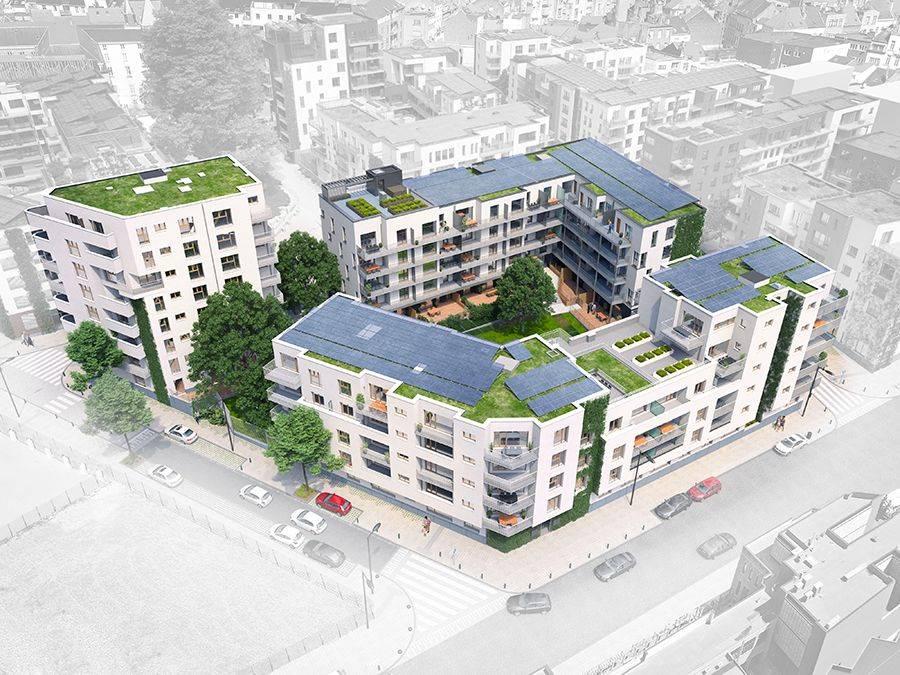 Dauvister relève le défi énergétique du quartier durable Tivoli