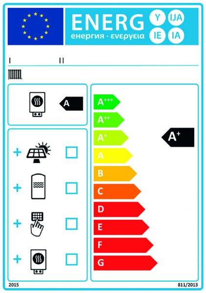 Étiquette mixte - Chauffage